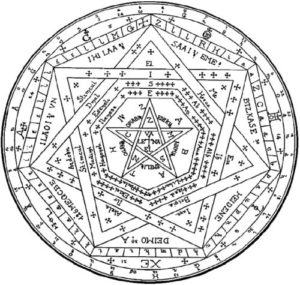 Enochian Seal of Truth - Sigillum Dei Ameth enochian magic, enochiaanse magie, engelen, sigil, evoke, aanroepen