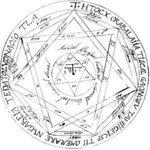 Grote Pentakel Koning Salomo Greater Key Lesser Key Demonen oproepen summoning rituelen namen pentakel