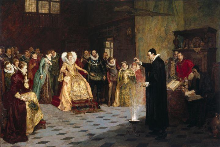 Sigillum Dei Aemeth, Enochiaans, Engelenmagie, magie, magick, John Deen, Koningin Elizabeth I, experiment, schrijver, ritueel, zegel, seal