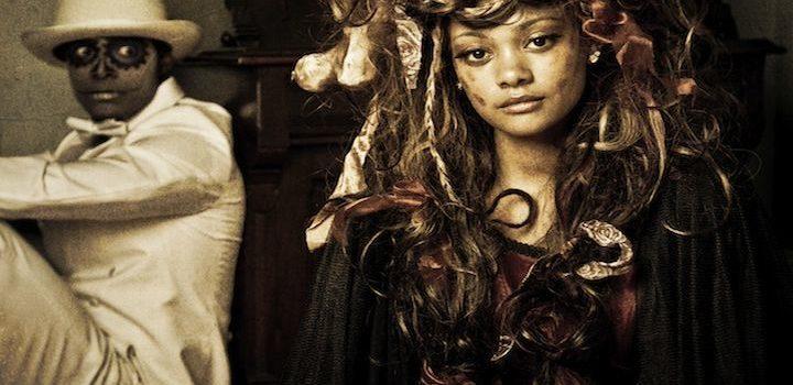 Voodoo, Maman Brigitte, Baron Samedi Loa, Loa's, aanbidding, hulp, offers, wraak, ritueel