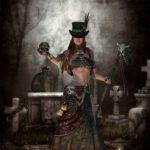 Maman Brigitte, voodoo, hoodoo, loa, magie, vloek, voodoopop, hulp, doden, ritueel